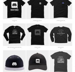 Discord Online Merch Store